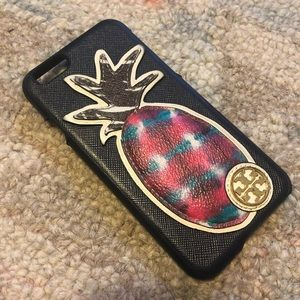 Tory Burch Pineapple Hardshell iPhone Case
